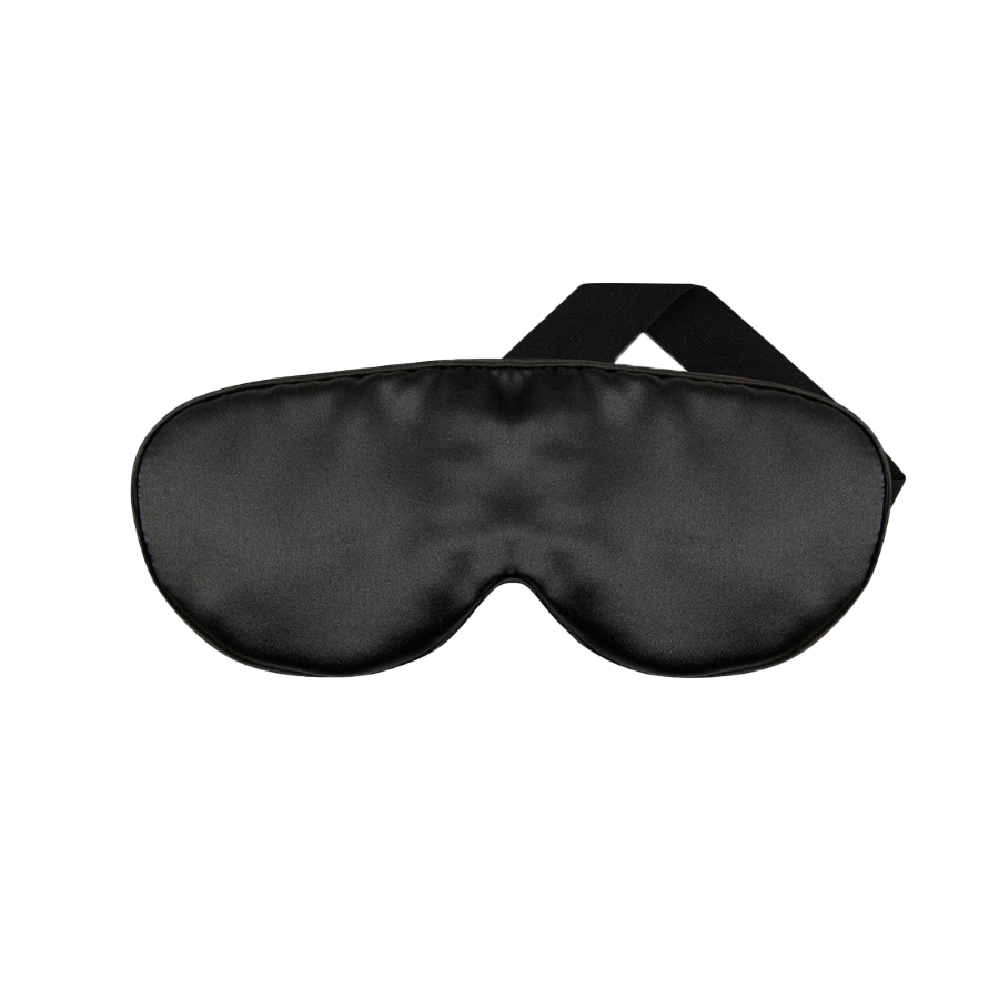 Silk Eye Mask Charcoal