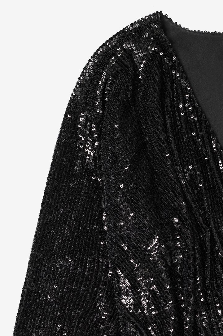 Elena Dress Black Sequin