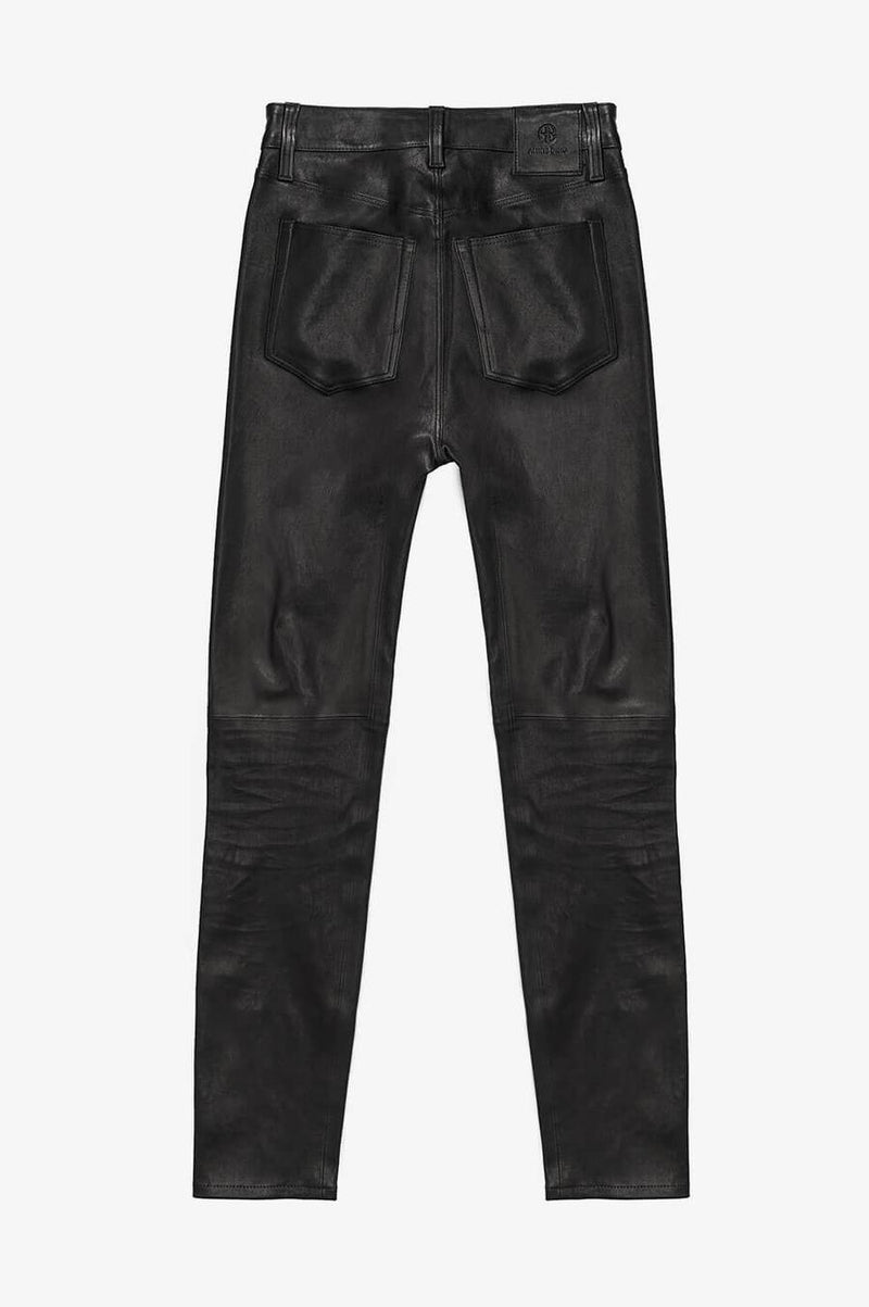 Jagger Leather Pant Black