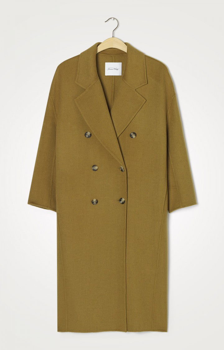 Blazer Collar L/S Buttoneed Long Coat Marm-Marmot
