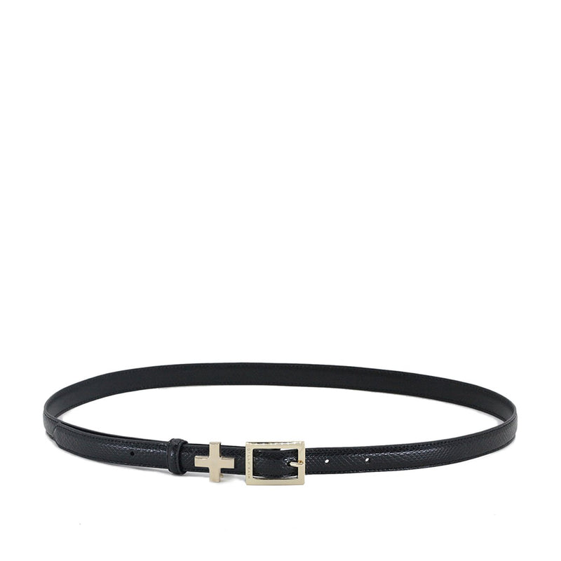 The Rose Belt Black/Light Gold