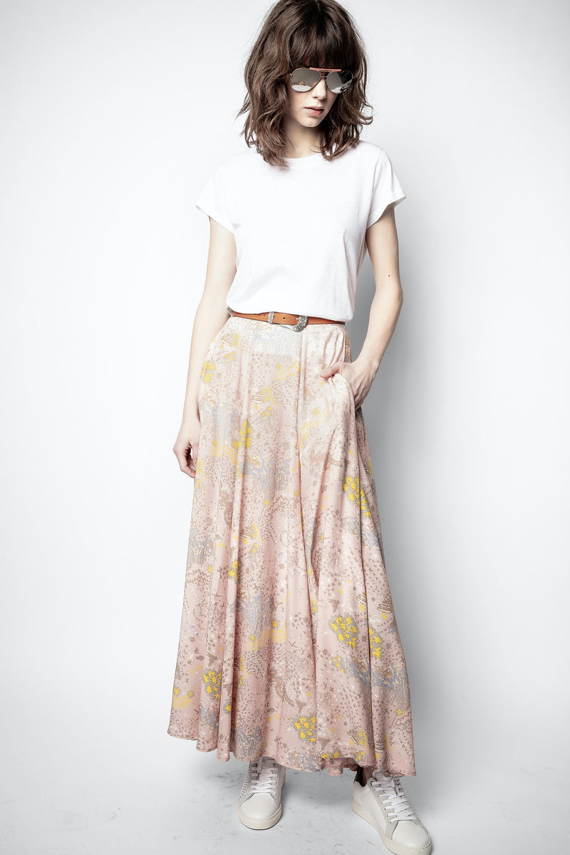 Joyo  Print Rock Glam Skirt