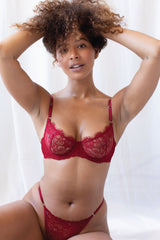 Rosie Thong Red