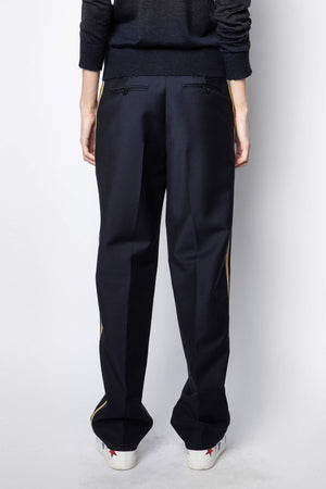Peter Tailleur Militaire Pants Ink