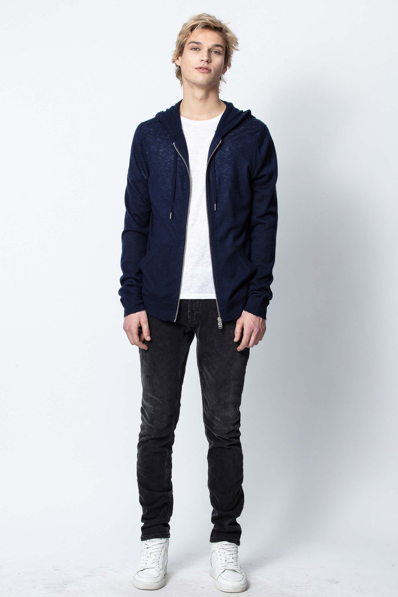 Clash CP Spi Mens Cardigan Marine