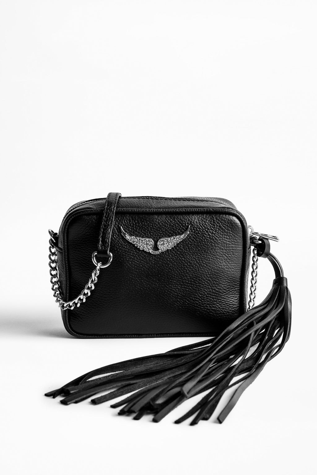 XS Boxy Grained Bag Noir