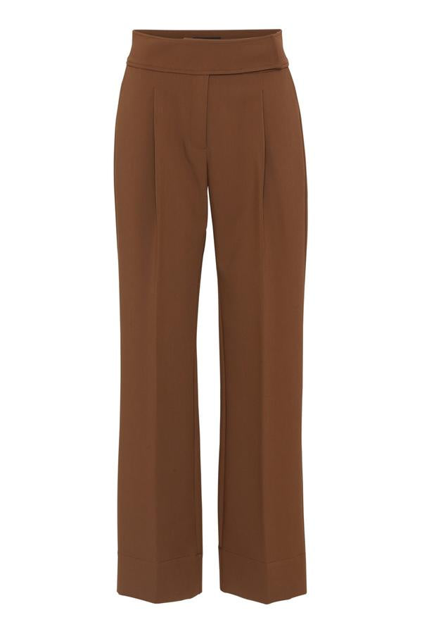 Caro Pants Dark Camel