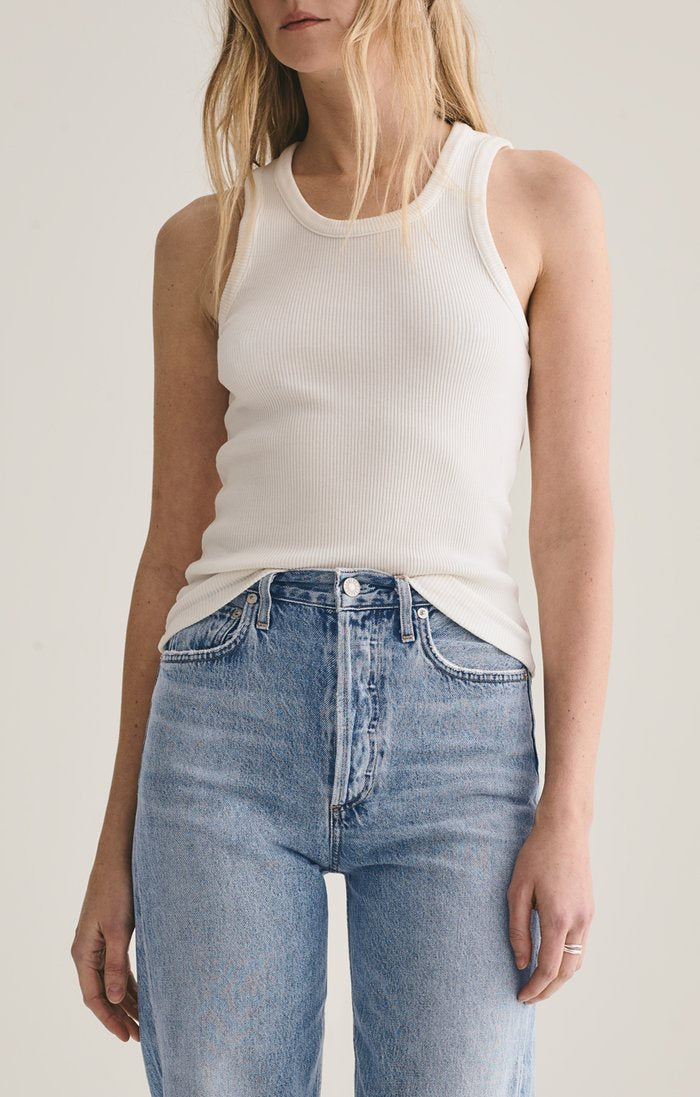 Poppy Scoop Neck Tank Tissue