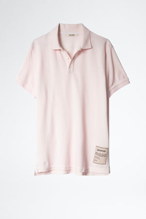 Trot Cold Dyed T-Shirt Pink
