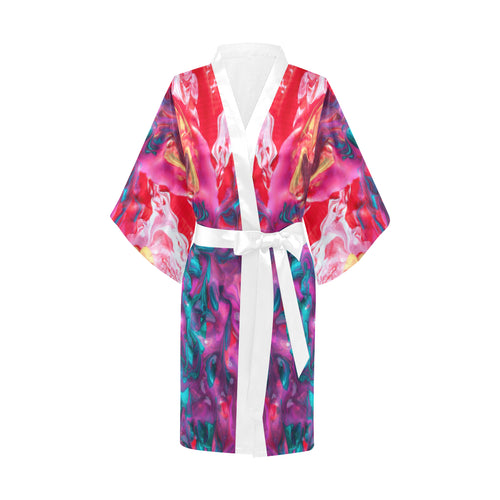 Self-Care Sis Women's Short Kimono Robe