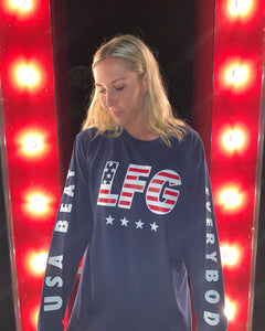 LFG Navy Long Sleeve