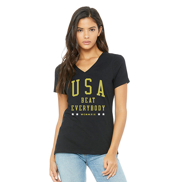 Women's USA Beat Everybody Tee