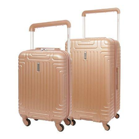 Aerolite Hard Shell Suitcase Luggage Set (Cabin + Large) - Packed Direct UK