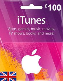iTunes Gift Card UK £100
