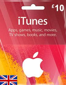 iTunes Gift Card UK £10