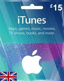 iTunes Gift Card UK £15