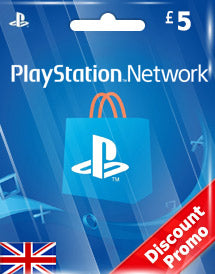 PSN Gift Card UK £5