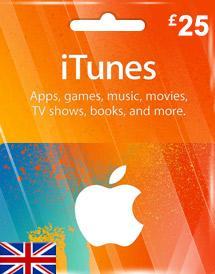 iTunes Gift Card UK £20