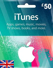 iTunes Gift Card UK £50