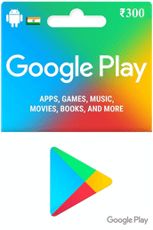 Google Play Gift Card IND ₹300