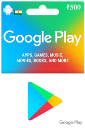 Google Play Gift Card IND ₹500