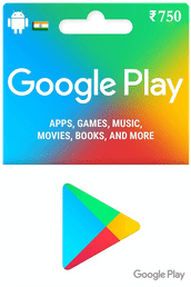 Google Play Gift Card IND ₹750