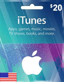 iTunes Gift Card US $20