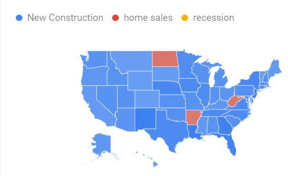 Google Trends - Real Estate Searches 2020 Jun - Aug