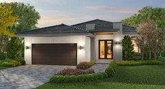 New Construction Contemporary Single Family Homes in Parkland, Florida