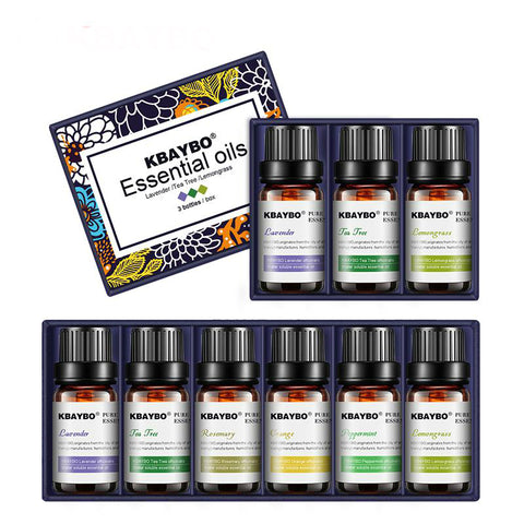 Essential Oil Set for Aromatherapy Diffusers