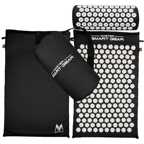 Acupressure Massage Mat - BONUS: Acupuncture Pillow & Case!