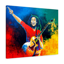 Load image into Gallery viewer, Bob Marley - The Legend- Wall art Print on Canvas-Ready to hang Painting, Tropical  Art Print Home & Wall Decor
