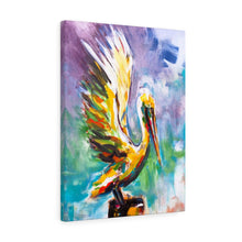Load image into Gallery viewer, Angelic - Free Bird  - Wall art Print on Canvas-Ready to hang Painting, Tropical  Art Print Home & Wall Decor