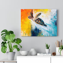 Load image into Gallery viewer, Born to be Free - Print on Canvas-Ready to hang Wall Art, Tropical  Art Print Wall Decor