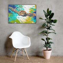 Load image into Gallery viewer, Canvas wall art painting digital prints Framed for wall decor or wall hanging of abstract acrylic and oil painting-Born to be Free