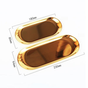 SIIMA GOLD METAL COFFE TRAY