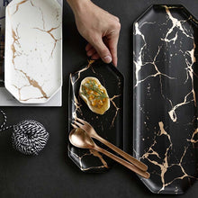 Load image into Gallery viewer, MiLANO LUXURY SERIES MARBLE DECOR TRAY