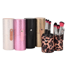 Load image into Gallery viewer, RACSSY BEAUTY LUXURY TRAVEL MAKEUP BRUSH CASE