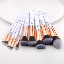 Load image into Gallery viewer, Racssy Beauty Luxe -Professional Makeup Brushes Set of 10