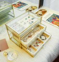 Load image into Gallery viewer, KILIMA LUXURY GOLDEN SERIES JEWELRY ORGANIZER