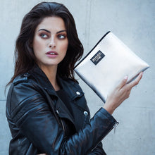 Load image into Gallery viewer, Piccolo Argento Clutches Makeup bag
