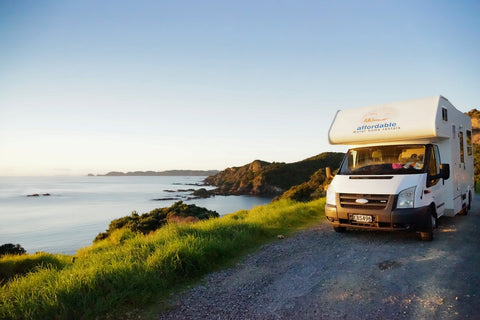 Affordable Motorhomes on NZ shingle road