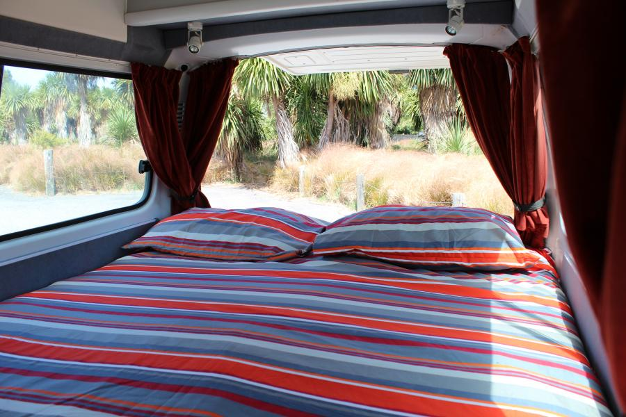 2 Berth Standard (Bed-in-Rear)