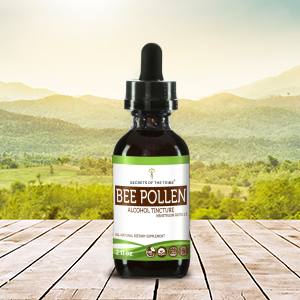 Bee Pollen Tincture Extract, Organic (Bee Pollen) Dried Pollen - secretsofthetribe