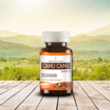 Load image into Gallery viewer, Camu Camu Capsules, Organic Camu Camu (Myrciaria dubia) Dried Fruit - secretsofthetribe
