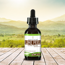 Load image into Gallery viewer, Lime Peel Tincture Extract, Organic (Citrus x aurantifolia) Dried Peel - secretsofthetribe