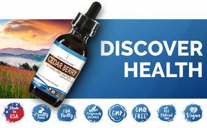 Cedar Berry Tincture Extract, Organic (Juniperus monosperma) Dried Berry - secretsofthetribe