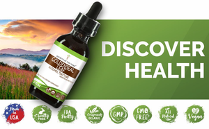Goldenseal Leaf Tincture Extract, Organic (Hydrastis canadensis) Dried Leaf - secretsofthetribe