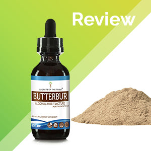 Butterbur Tincture Extract, Organic Butterbur (Petasites Hybridus) Dried Root - secretsofthetribe