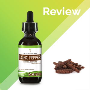 Long Pepper Tincture Extract, Organic (Piper Longum) Dried Pepper - secretsofthetribe